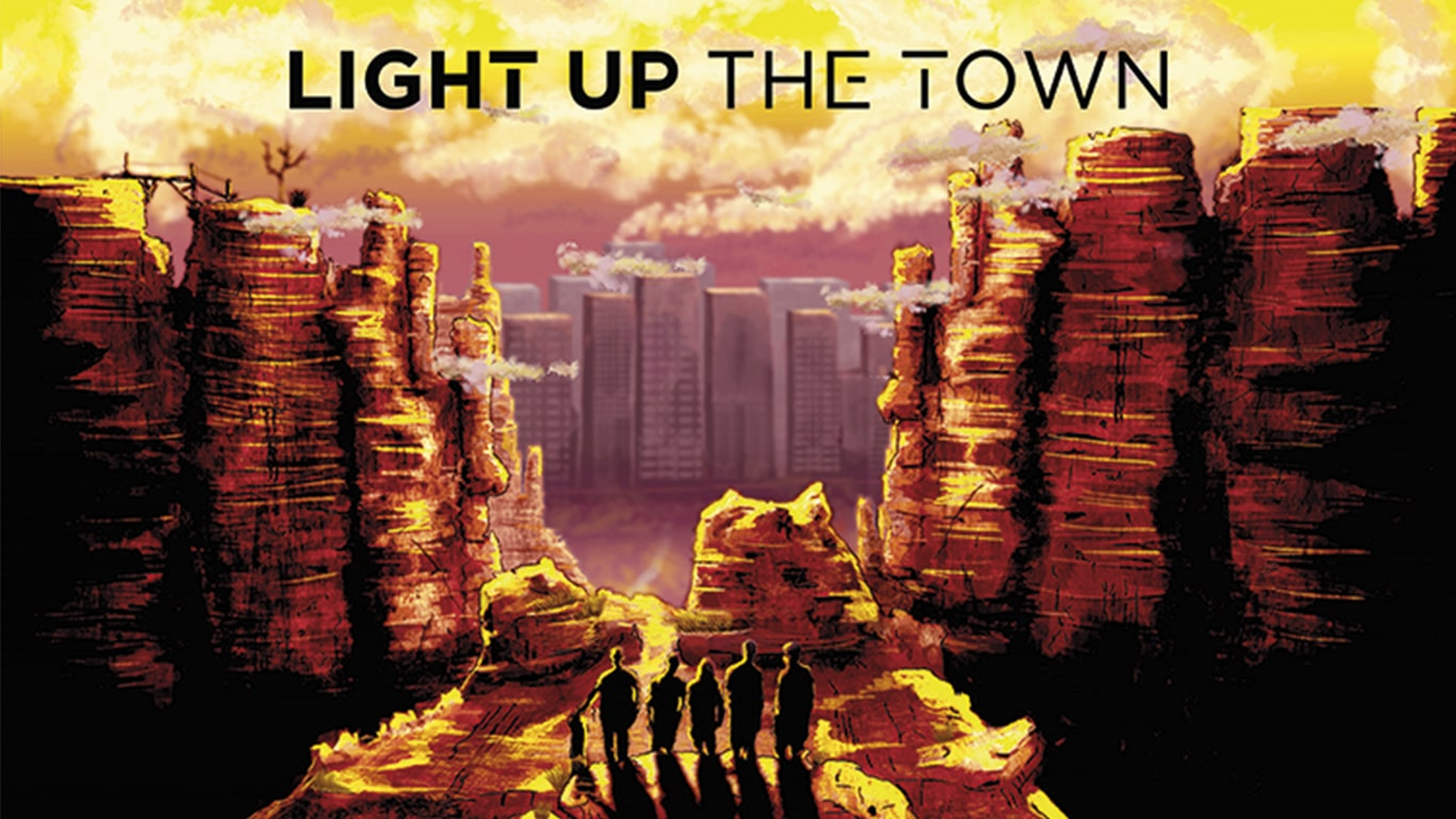 Thomas Kern Grafiker Rise Up Media Light Up The Town