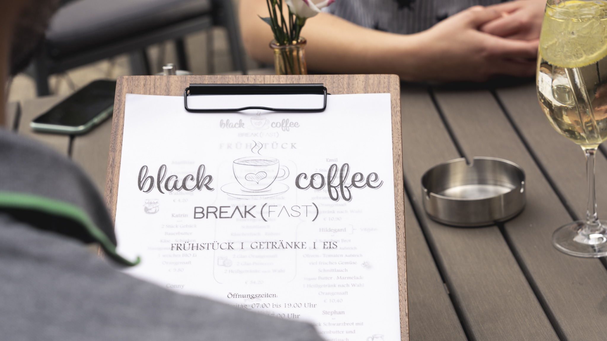 Black Coffee Breakfast Graz